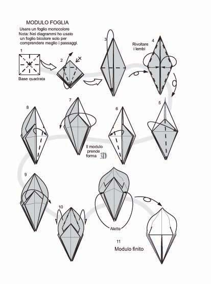 оригами лилия.