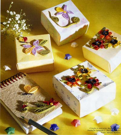 gift presents: quilling cards