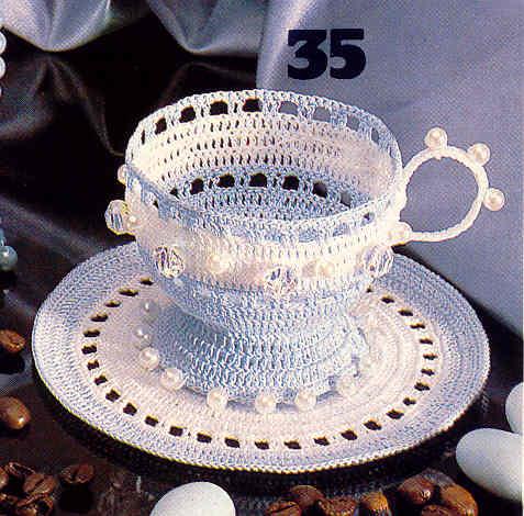Описание: Посуда вязанная крючком.  Конфетницы, вазочки и многое другое, с подробными схемами и... www.bookarchive.ru.