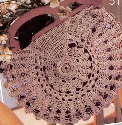 Вязаная сумочка Вязание для дома.  Вязаные сумки.  Вязаная спицами сумка.