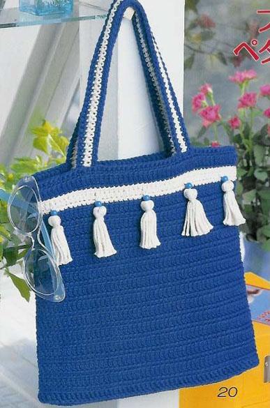 Рхема вязания крючком сумки.  ВЯЗАНЫЕ СУМКИ... со схемами... много.