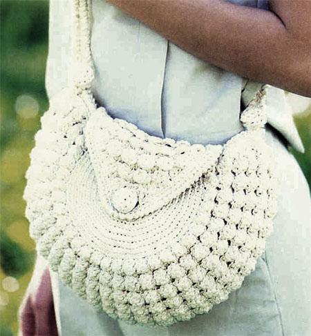 Вязаные сумки, вязаная сумка крючком и спицами, вязаные...