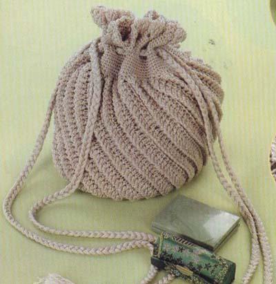 сумочка свадебная вязаная крючком схемы.