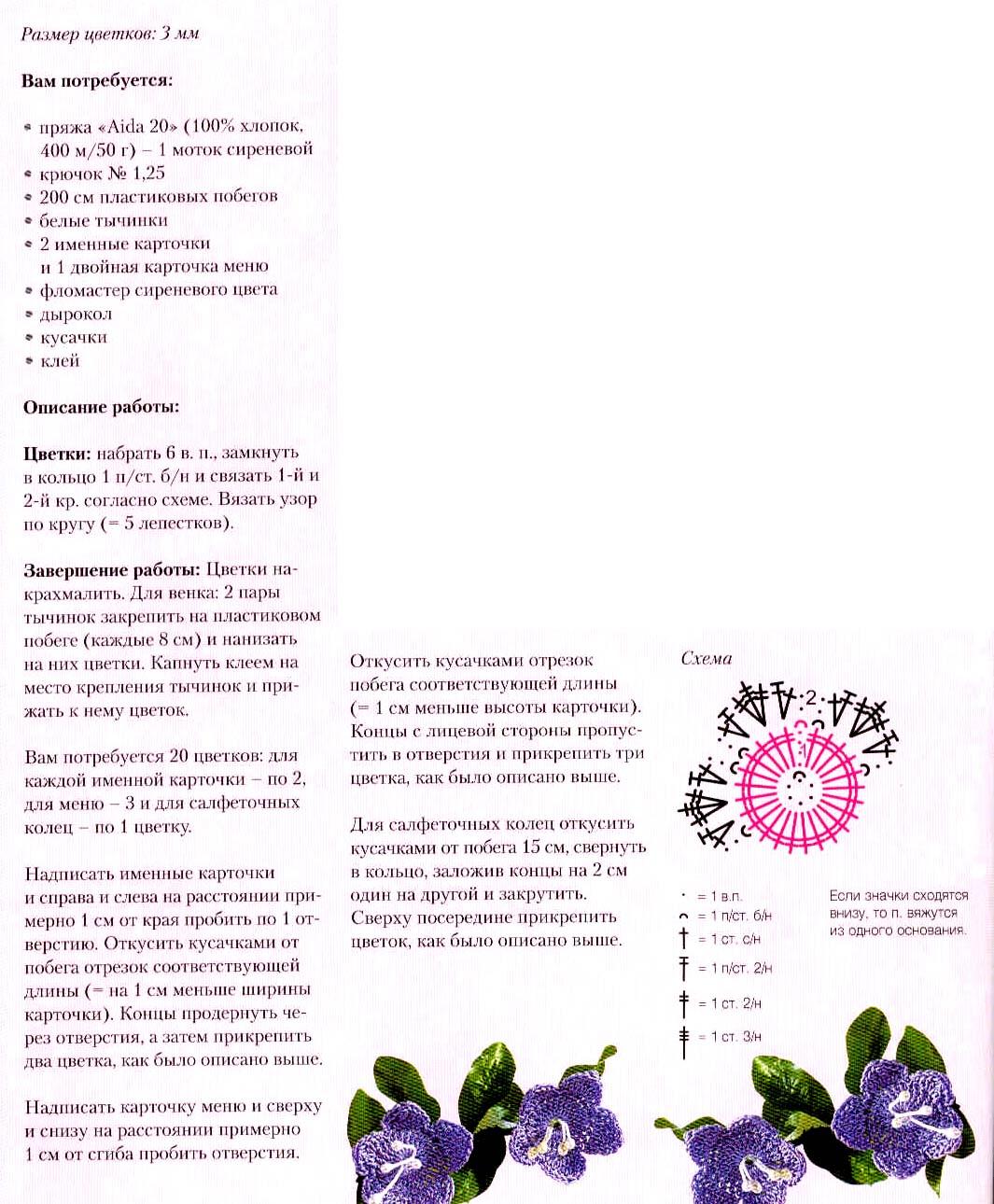 Листья роз вязание крючком