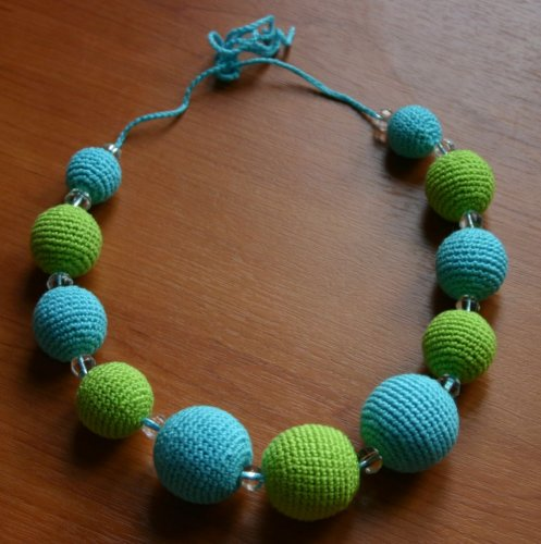 颈上花--钩编项链(8) - 柳芯飘雪 - 柳芯飘雪的博客